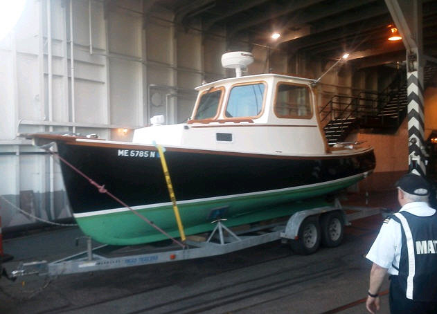 "Gas Pumps For Sale >> Freedom Boat Service | 1968 Royal Lowell-design 25' Lobster/Picnic boat - ""Captain Woody"""