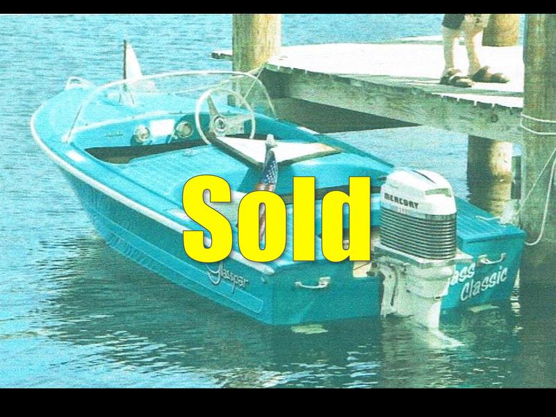 Freedom Boat Service 1957 Glasspar 14 Club Lido