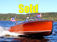 1942 Chris-Craft - 19' - Custom Runabout - Mercury